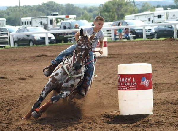 Wisconsin Girls Barrel Racing Association Divisions