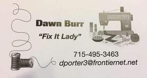 Dawn Burr Fix It Lady